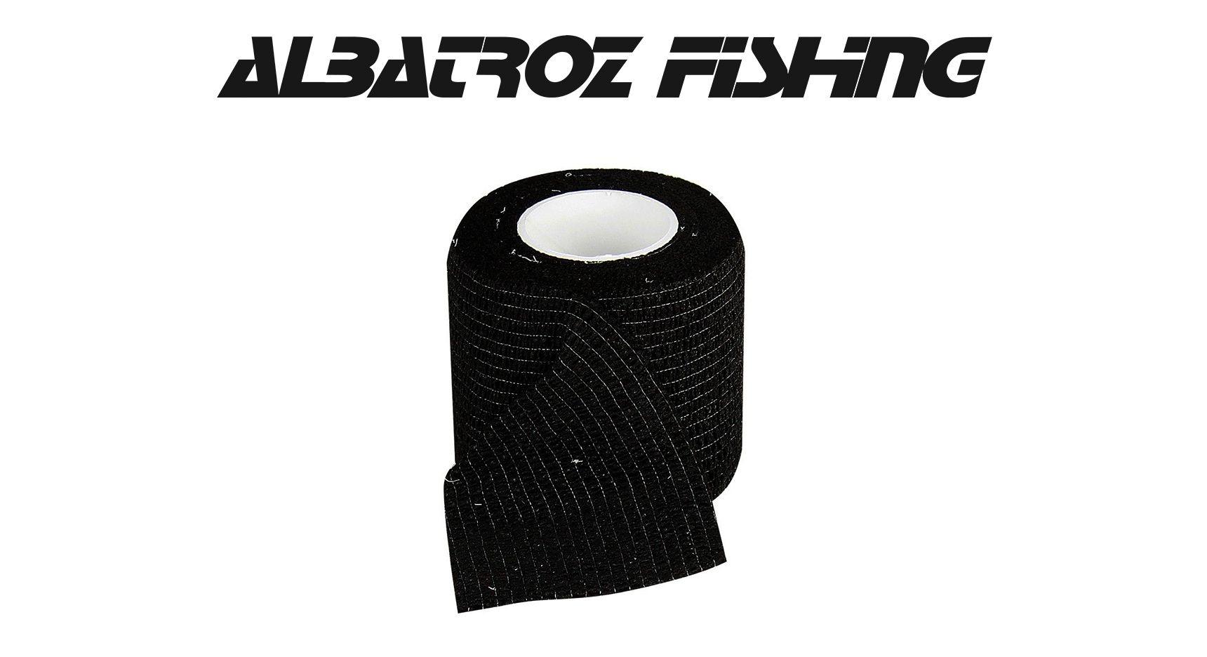 Fita Camp para Camuflagem e Proteção de Dedos - Albatroz Fishing - FT-Black