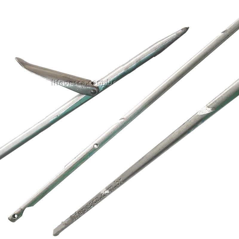 Flecha / Arpão Aço Galvanizado Com Cava 130cm - Divecom