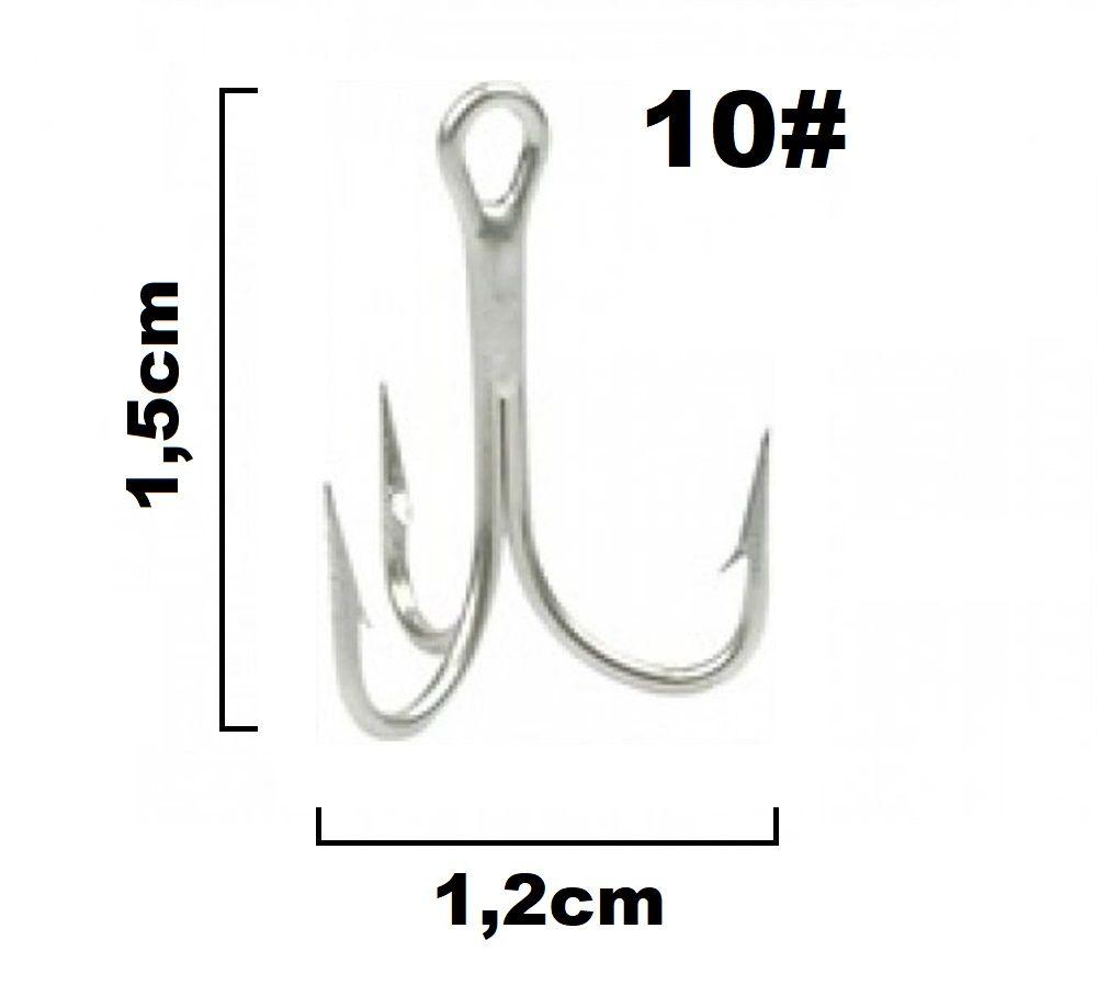 Garateia Marine Sports N° 10 (1,5cm) - Caixa 100 Peças  - Life Pesca - Sua loja de Pesca, Camping e Lazer