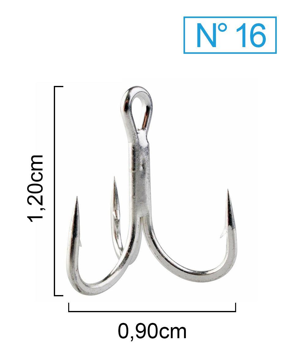 Garateia Marine Sports N° 16 (1,2cm) - Caixa 100 Peças  - Life Pesca - Sua loja de Pesca, Camping e Lazer