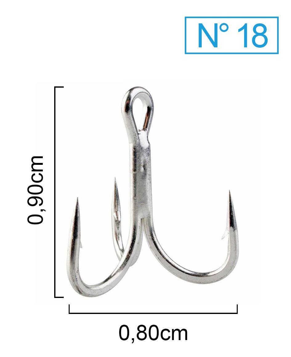 Garateia Marine Sports N° 18 (0,90cm) - Caixa 100 Peças  - Life Pesca - Sua loja de Pesca, Camping e Lazer