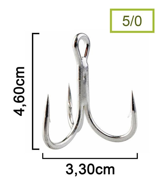 Garateia Marine Sports N° 5/0 (4,6cm) - Caixa 100 Peças  - Life Pesca - Sua loja de Pesca, Camping e Lazer