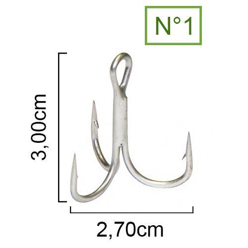 Garateia Maruri MR777 N° 1 (3,0cm) - 25 Peças  - Life Pesca - Sua loja de Pesca, Camping e Lazer