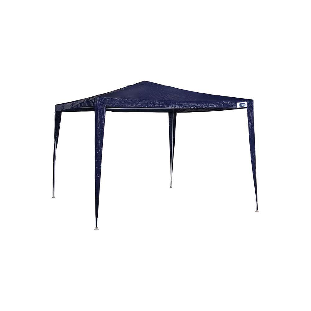 Gazebo Tenda Mor Rafia 3x3m - Cor Azul