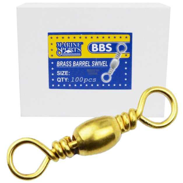 Girador BBS Gold Nº 5/0 - Marine Sports - 100 Peças