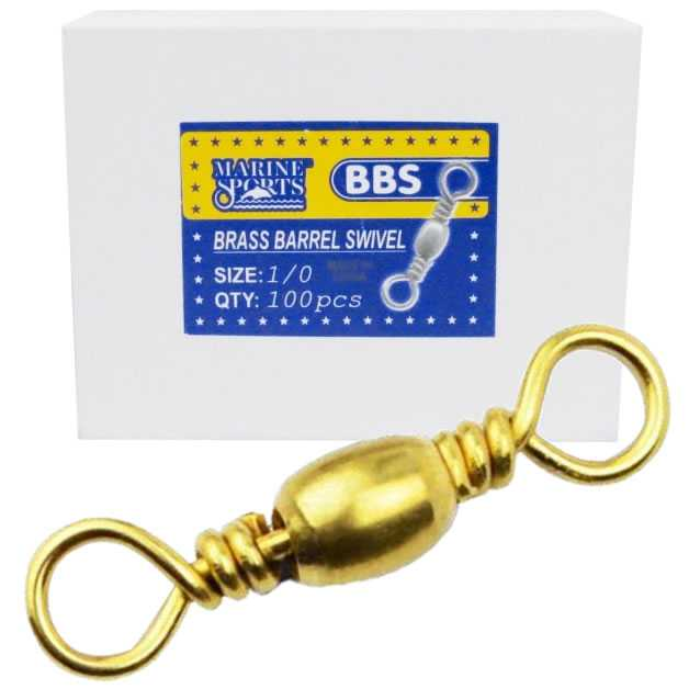 Girador BBS Gold Nº 3/0 - Marine Sports - 100 Peças