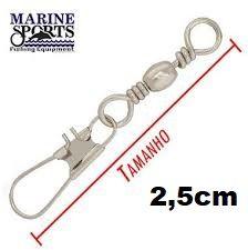 Girador C/ Snap BBS-NI Nº 11 - Marine Sports - 100 Peças  - Life Pesca - Sua loja de Pesca, Camping e Lazer