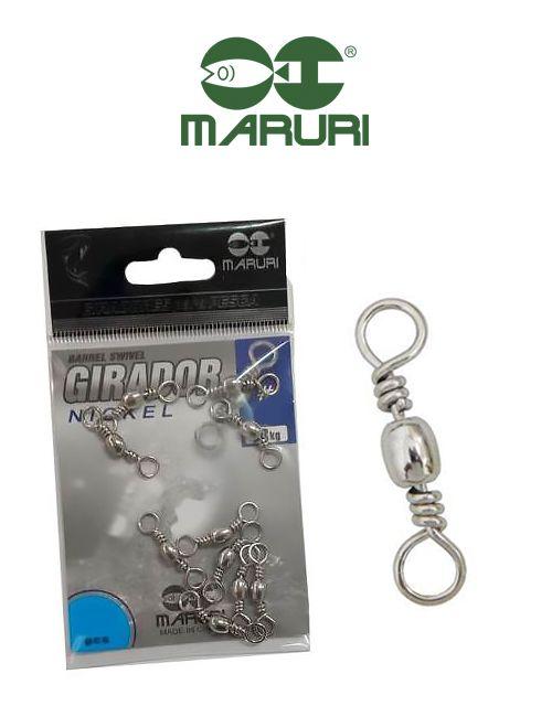Girador Nickel Maruri N°14 (1,20cm) - 10 Peças  - Life Pesca - Sua loja de Pesca, Camping e Lazer