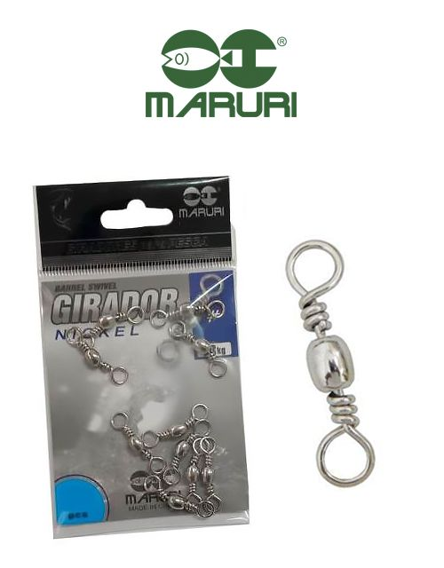 Girador Nickel Maruri N° 5/0 (4,40cm) - 5 Peças  - Life Pesca - Sua loja de Pesca, Camping e Lazer