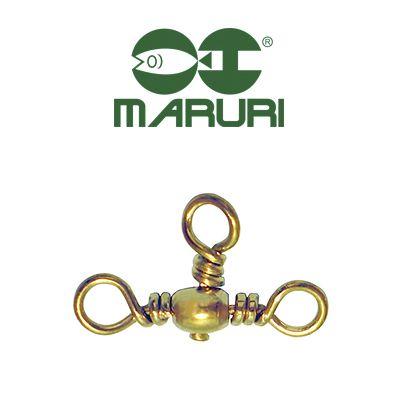 Girador Triplo Gold Maruri N° 3 (1,60cm) - 10 Peças  - Life Pesca - Sua loja de Pesca, Camping e Lazer