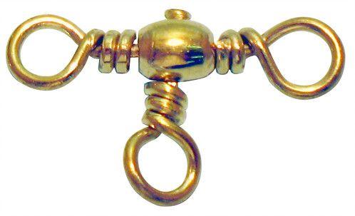 Girador Triplo Gold Maruri N° 4 (1,50cm) - 10 Peças  - Life Pesca - Sua loja de Pesca, Camping e Lazer