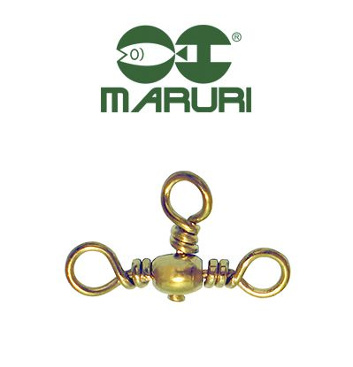 Girador Triplo Gold Maruri N° 6 (1,40cm) - 10 Peças  - Life Pesca - Sua loja de Pesca, Camping e Lazer