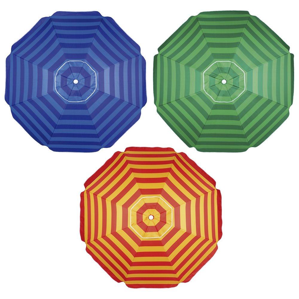 Guarda-Sol Alumínio FPS 100 Articulável 2,40 Metros Mor - Várias cores