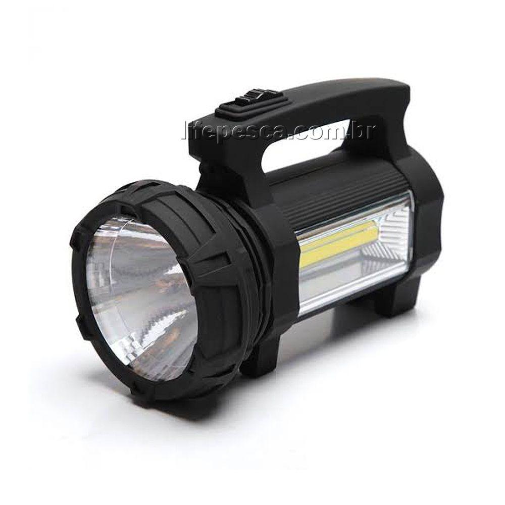 Holofote portátil Super Potente Led Recarregável Ultra Bright - Cmik