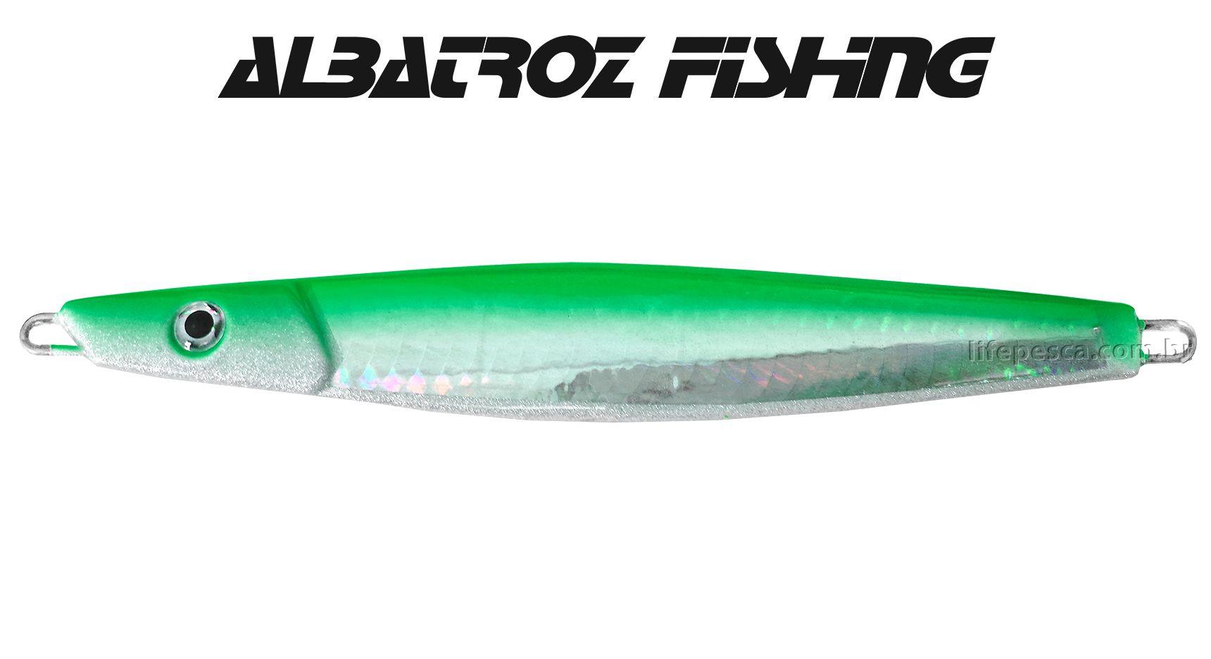 Isca Artificial Albatroz Fishing  Jumping Jig Dragon (100g) - Várias Cores  - Life Pesca - Sua loja de Pesca, Camping e Lazer