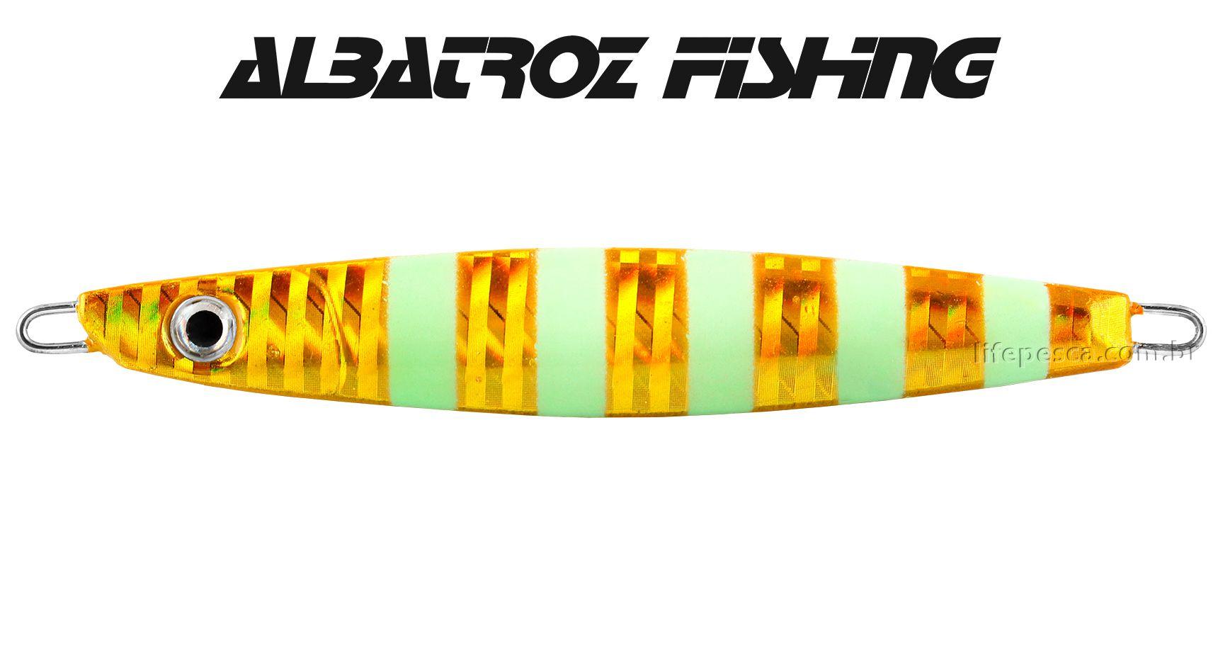 Isca Artificial Albatroz Fishing  Jumping Jig Dragon (125g) - Várias Cores  - Life Pesca - Sua loja de Pesca, Camping e Lazer
