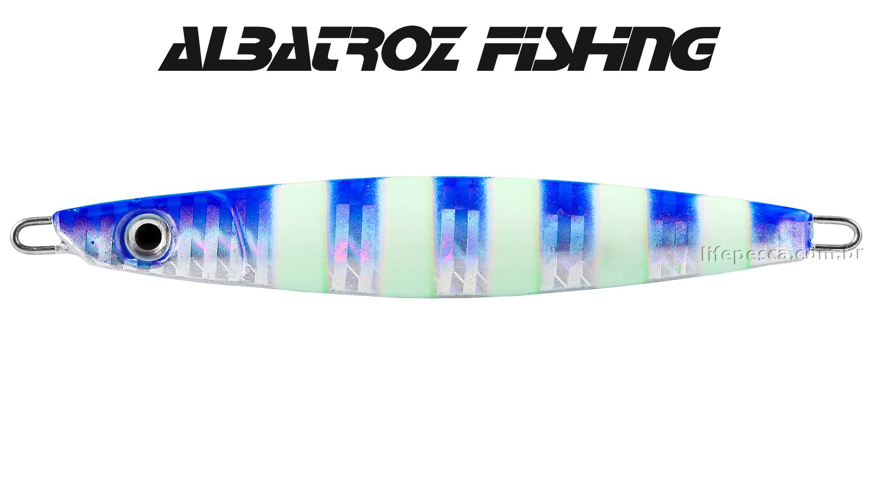 Isca Artificial Albatroz Fishing  Jumping Jig Dragon (150g) - Várias Cores  - Life Pesca - Sua loja de Pesca, Camping e Lazer