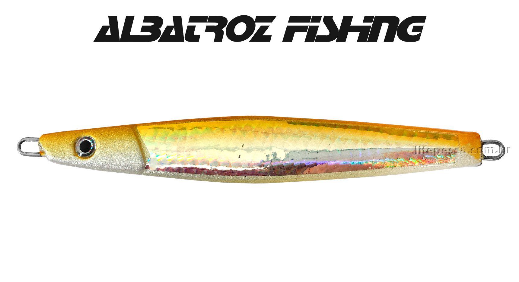 Isca Artificial Albatroz Fishing  Jumping Jig Dragon (60g) - Várias Cores  - Life Pesca - Sua loja de Pesca, Camping e Lazer