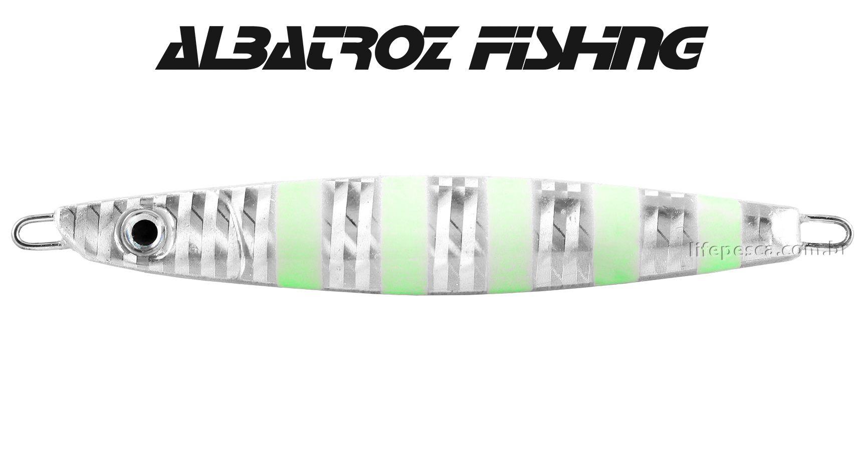 Isca Artificial Albatroz Fishing  Jumping Jig Dragon (85g) - Várias Cores  - Life Pesca - Sua loja de Pesca, Camping e Lazer