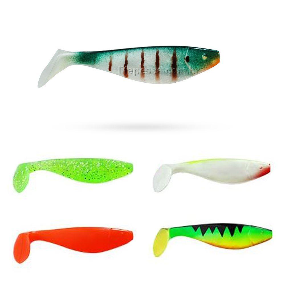 Isca Artificial Albatroz Fishing Shad SH75 7,5cm (3,8g) 10 Peças - Várias Cores