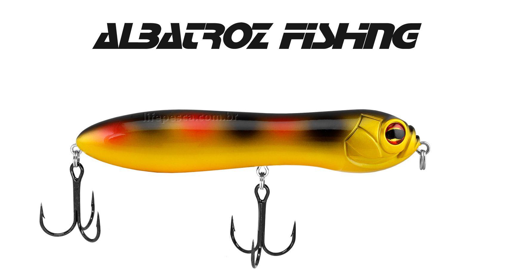 Isca Artificial Albatroz Fishing Thundera 130 - 13cm (30g) - Várias Cores  - Life Pesca - Sua loja de Pesca, Camping e Lazer