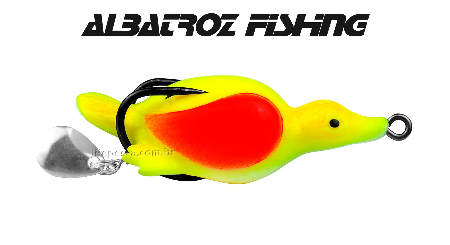 Isca Artificial Albatroz Fishing Top Duck XY-55 - 5,5cm (13g) - Várias Cores
