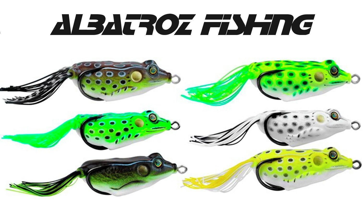 Isca Artificial Albatroz Fishing Top Frog Xy-10 - 6cm (18g) - Várias Cores