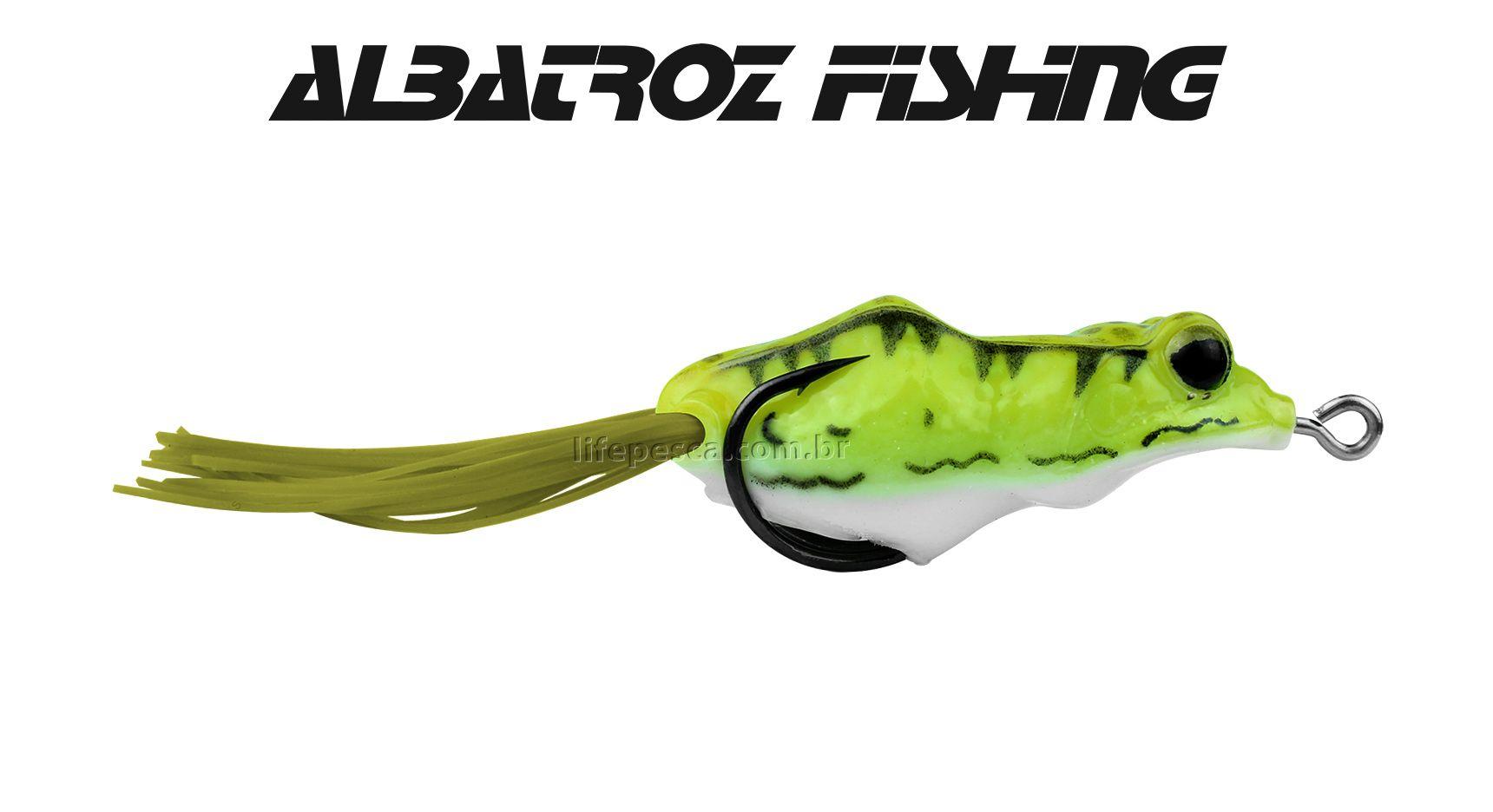 Isca Artificial Albatroz Fishing Top Frog XY-39 - 5,5cm (9,5g) - Várias Cores  - Life Pesca - Sua loja de Pesca, Camping e Lazer