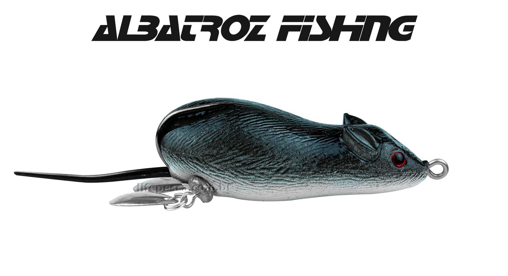 Isca Artificial Albatroz Fishing Top Mouse XY-19 - 6,5cm (20g) - Várias Cores  - Life Pesca - Sua loja de Pesca, Camping e Lazer