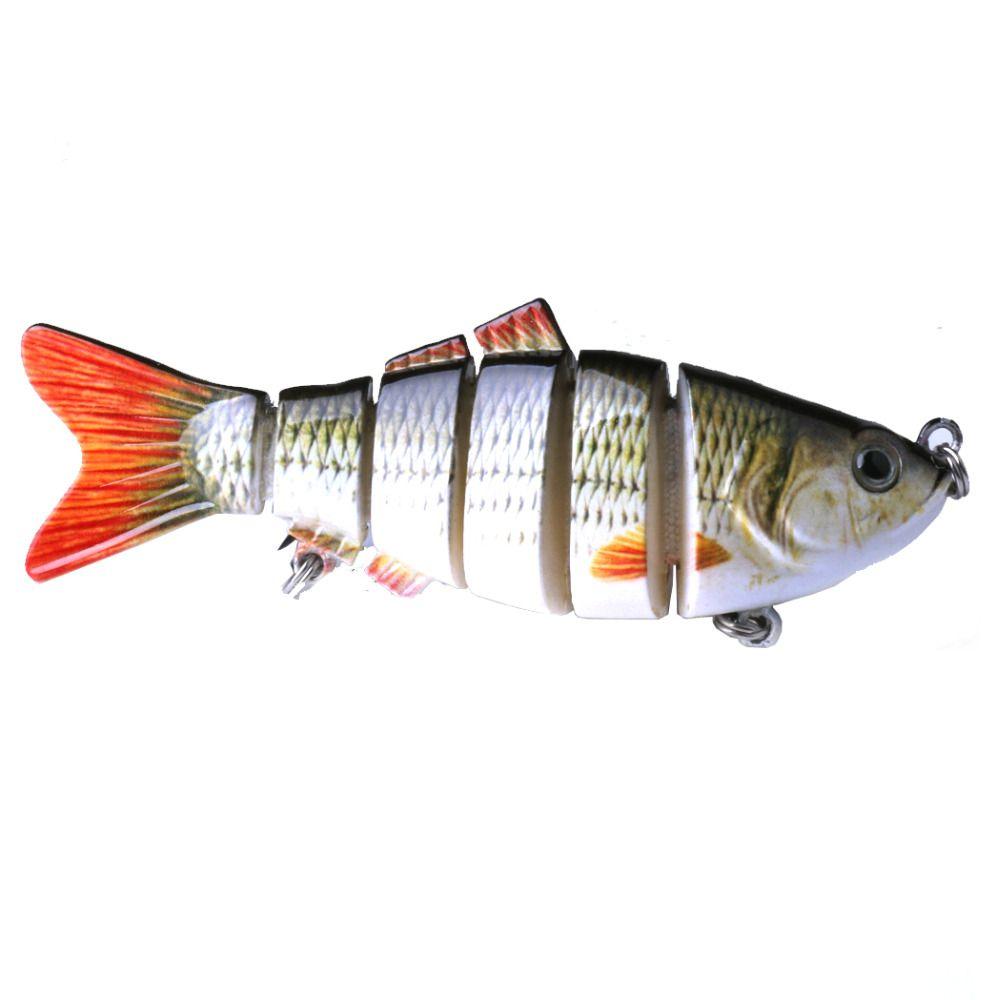 Isca Artificial Lambari Articulado 6 Segmentos - 10cm 18gr  - Life Pesca - Sua loja de Pesca, Camping e Lazer
