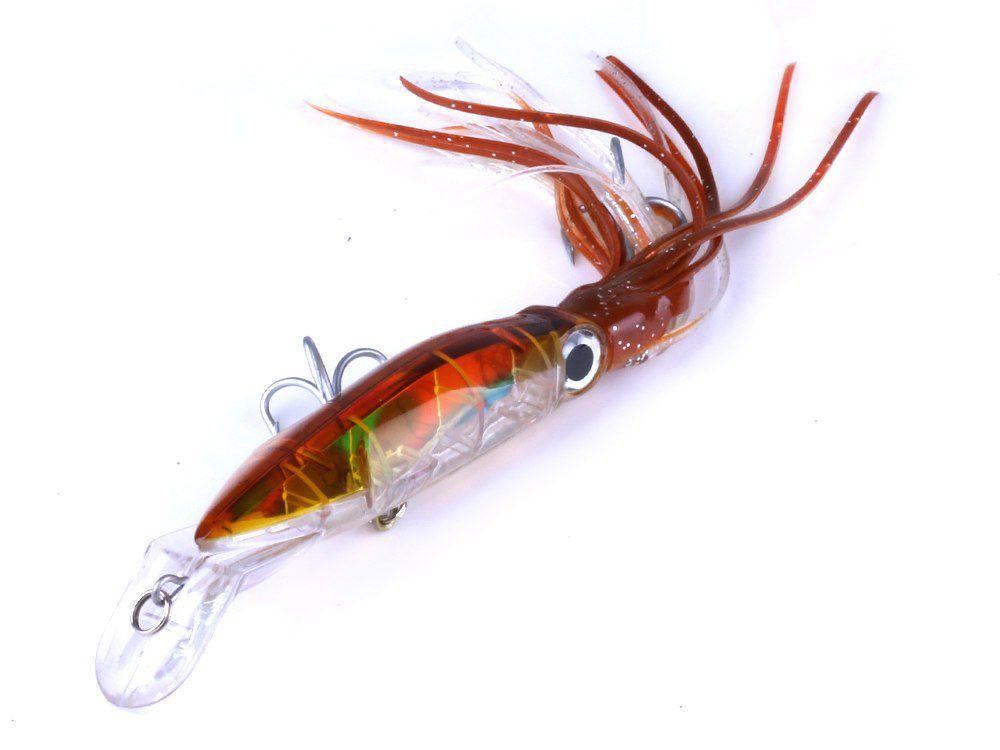 Isca Artificial Lula Importada 14cm 40g Meia-água Vmc 1/0  - Life Pesca - Sua loja de Pesca, Camping e Lazer