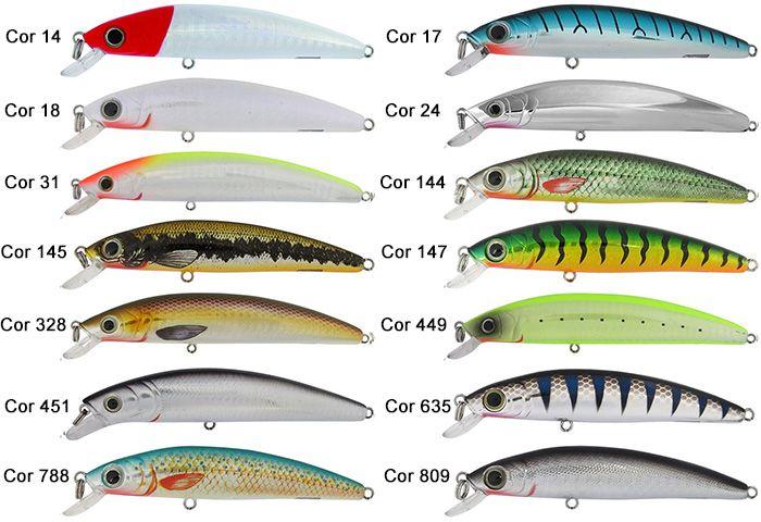 Isca Artificial Marine Sports Big Game 115 - 11,5cm 16,5gr - Várias Cores  - Life Pesca - Sua loja de Pesca, Camping e Lazer