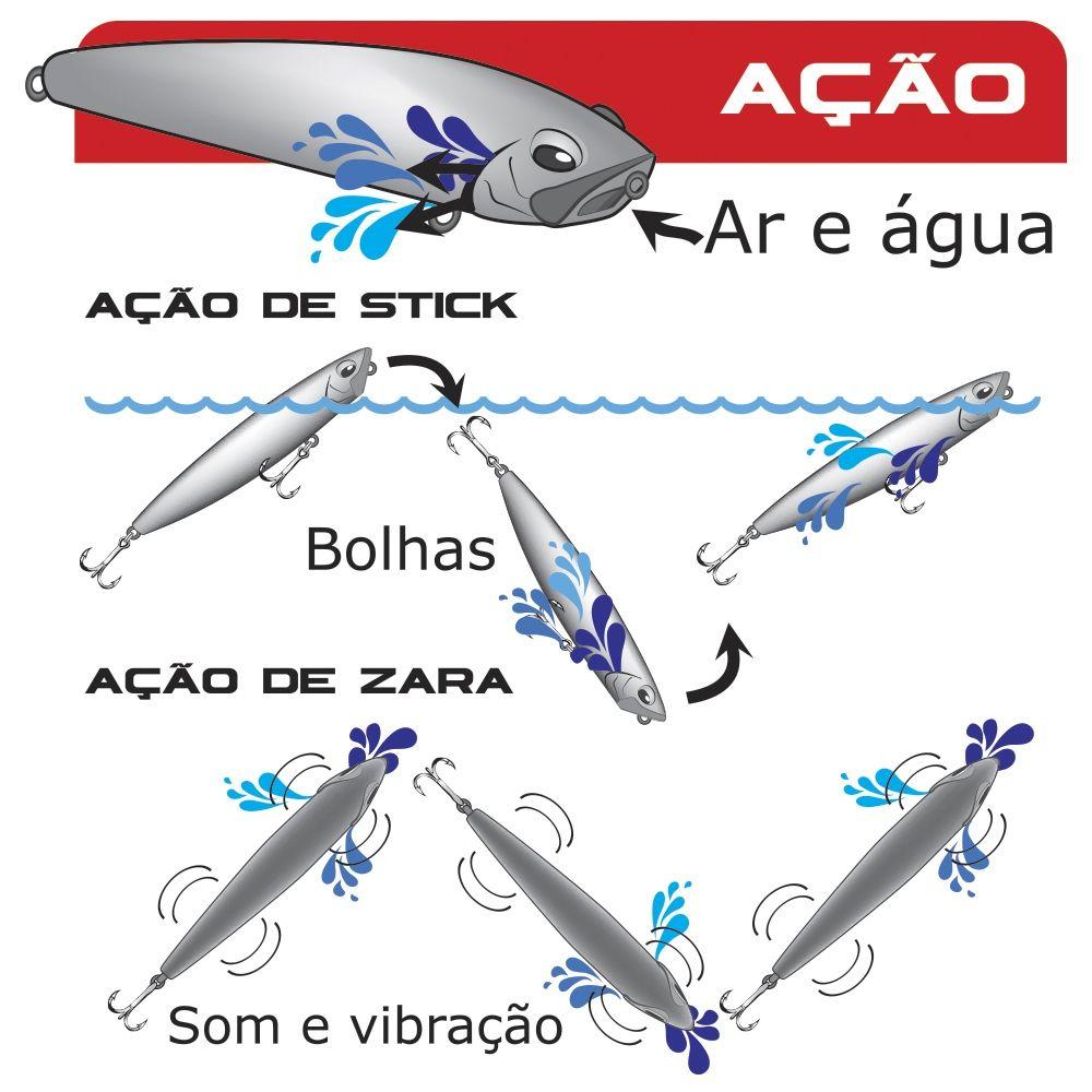 Isca Artificial Marine Sports - Pro Slider 115 - 11,5cm 22gr Várias Cores  - Life Pesca - Sua loja de Pesca, Camping e Lazer