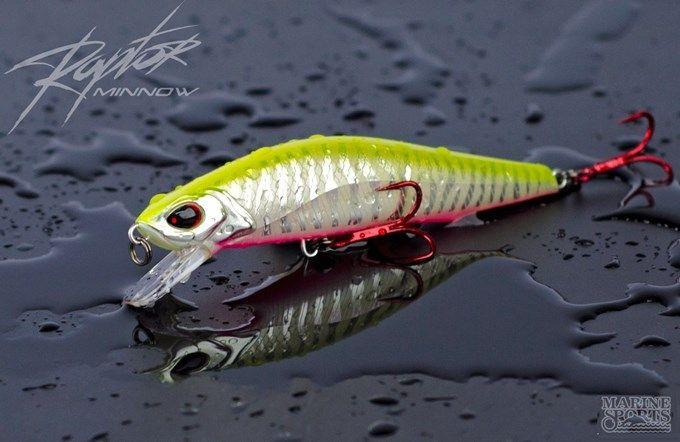 Isca Artificial Marine Sports - Raptor 120 - 12cm 24,5gr Várias Cores  - Life Pesca - Sua loja de Pesca, Camping e Lazer