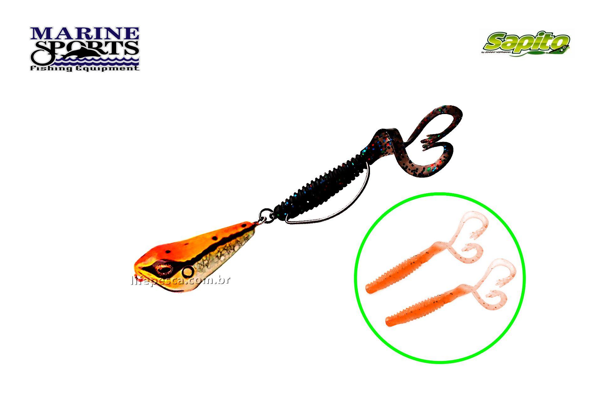 Isca Artificial Marine Sports Sapito SP-50 (9g) - Várias Cores  - Life Pesca - Sua loja de Pesca, Camping e Lazer