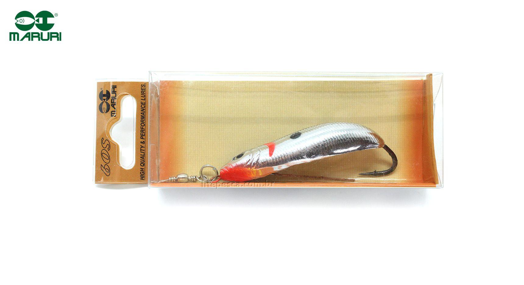 Isca Artificial Maruri Colher 60S - 6cm ( Várias Cores )  - Life Pesca - Sua loja de Pesca, Camping e Lazer