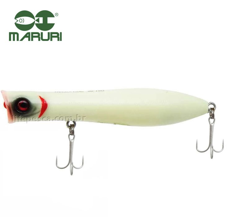 Isca Artificial Maruri Happy Pop 90F 9cm/12gr - Várias Cores  - Life Pesca - Sua loja de Pesca, Camping e Lazer