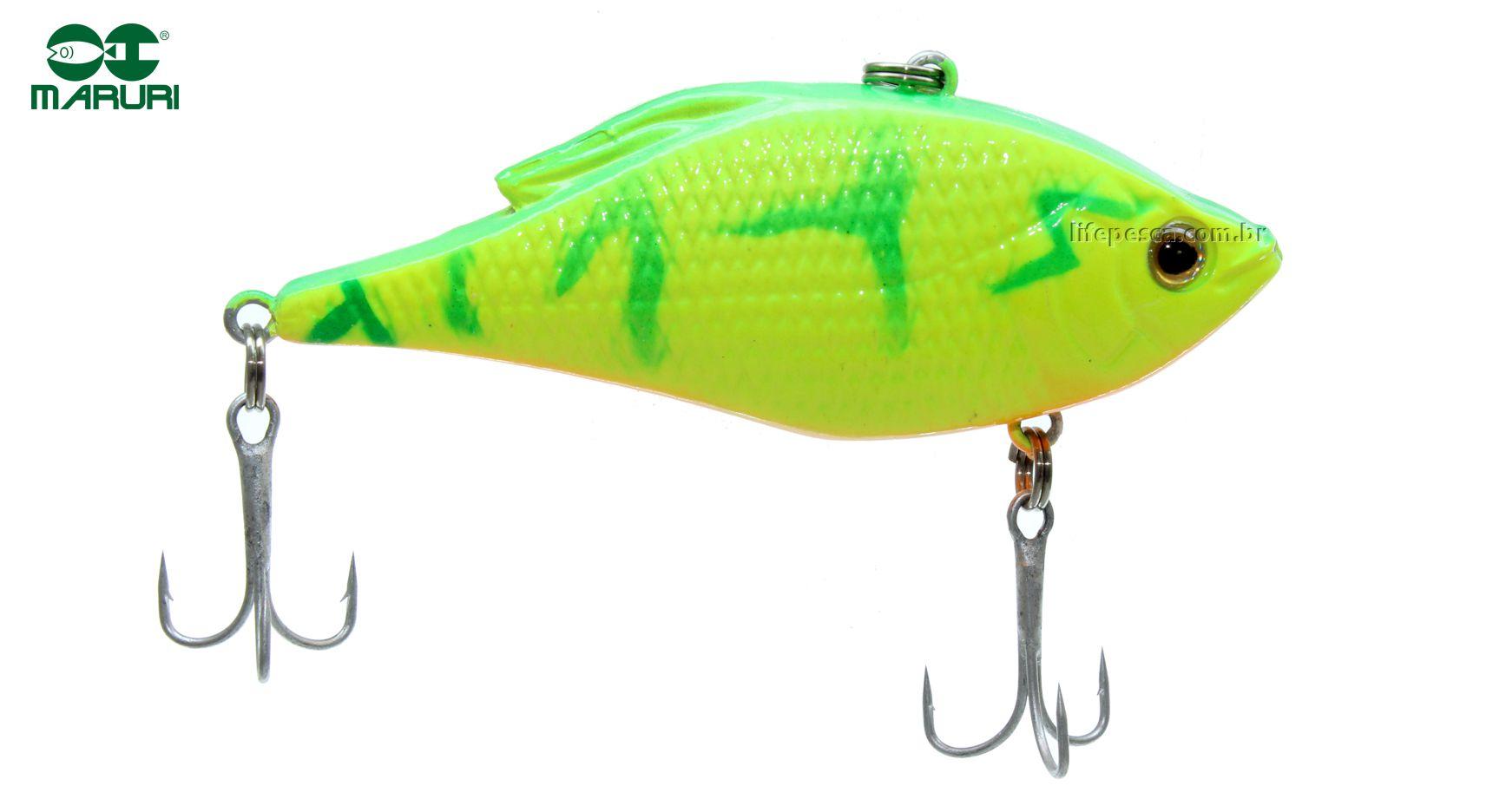 Isca Artificial Maruri Lambari 70 - 7cm/15gr - Várias Cores  - Life Pesca - Sua loja de Pesca, Camping e Lazer