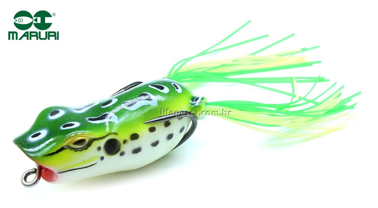 Isca Artificial Maruri Popper Frog 55S 5,5cm/12gr - Várias Cores