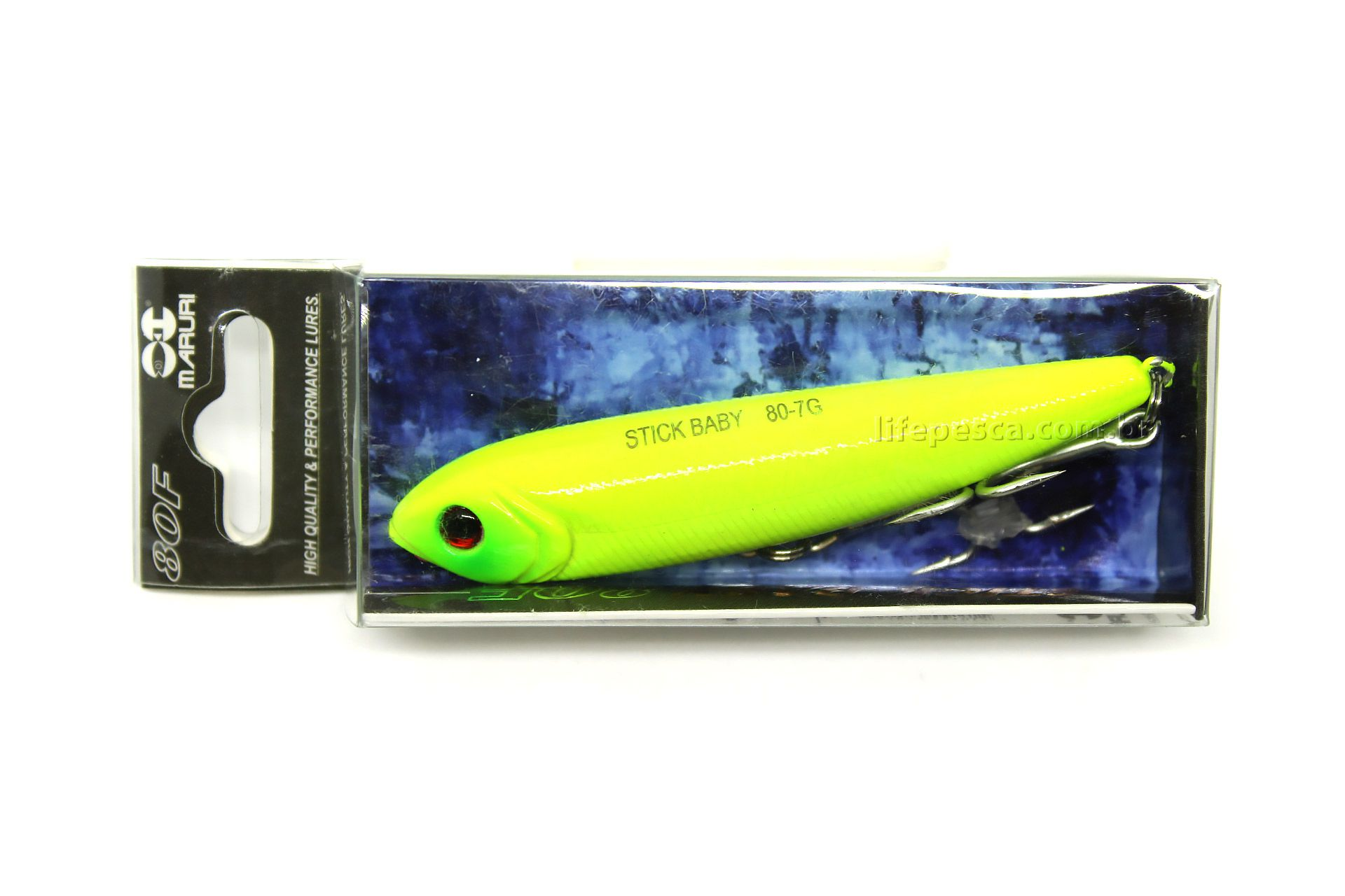 Isca Artificial Maruri - Stick Baby 80 - 7gr Várias Cores  - Life Pesca - Sua loja de Pesca, Camping e Lazer