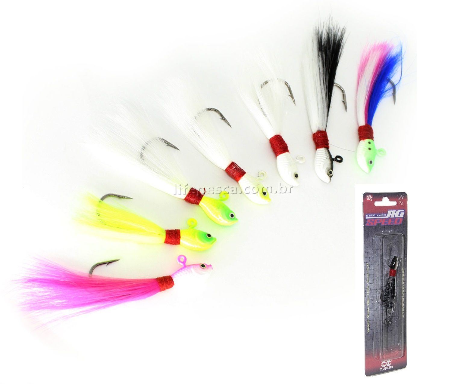 Isca Artificial Maruri Streamer Jig Speed - 15gr ( Várias Cores )