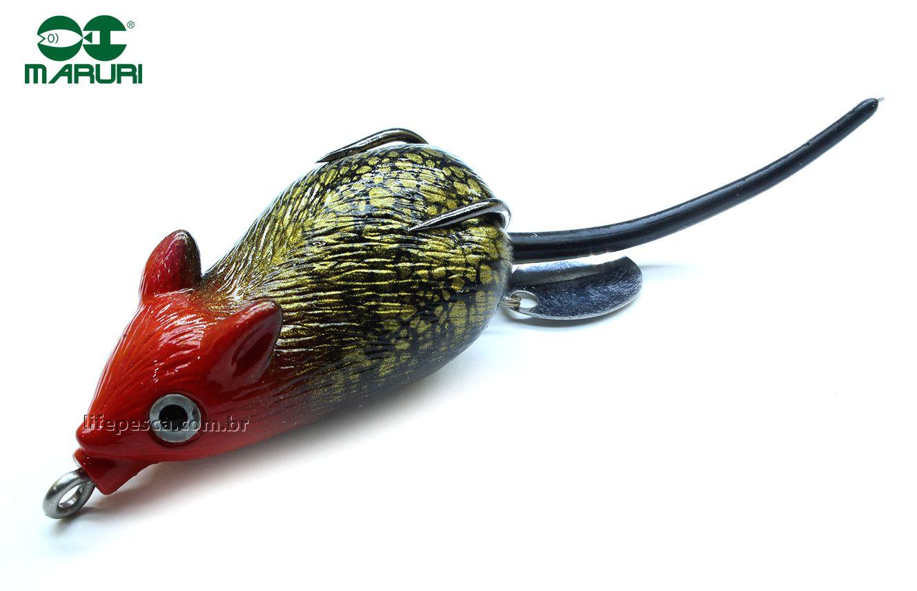 Isca Artificial Maruri Super Mouse 5,0cm/12gr - Várias Cores