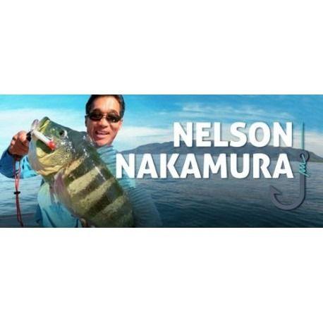 Isca Artificial Nelson Nakamura Curisco 90 - 90cm 15gr [Várias Cores]  - Life Pesca - Sua loja de Pesca, Camping e Lazer