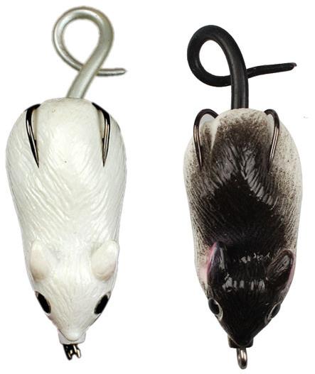 Isca Artificial Rato Mouse 5cm 10gr Anti Enrosco P/ Traíra  - Life Pesca - Sua loja de Pesca, Camping e Lazer