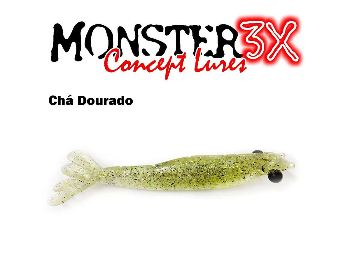 Isca Artificial Soft Monster 3X Big M (12 cm) 2 Unidades - Várias Cores