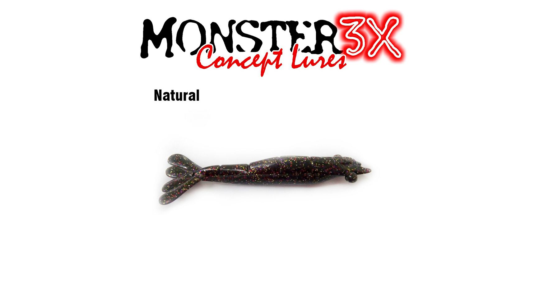 Isca Artificial Soft Monster 3X Ultra Soft (9cm) 3 Unidades - Várias Cores  - Life Pesca - Sua loja de Pesca, Camping e Lazer
