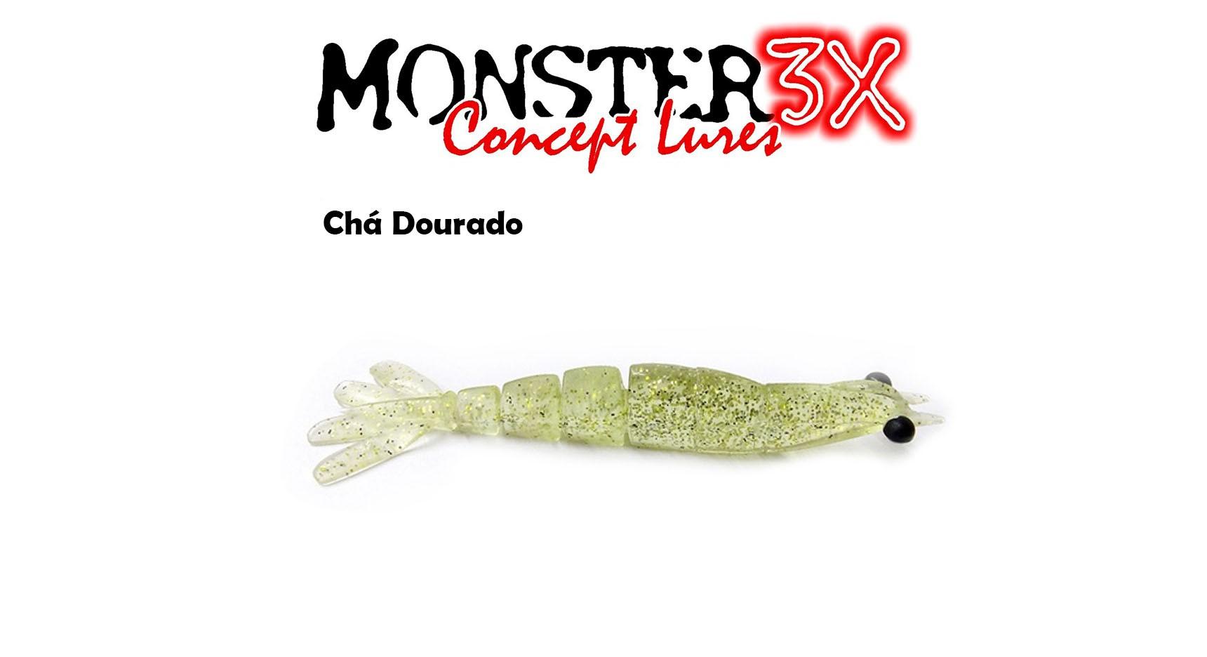 Isca Artificial Soft Monster 3X X-Move (12 cm) 2 Unidades - Várias Cores