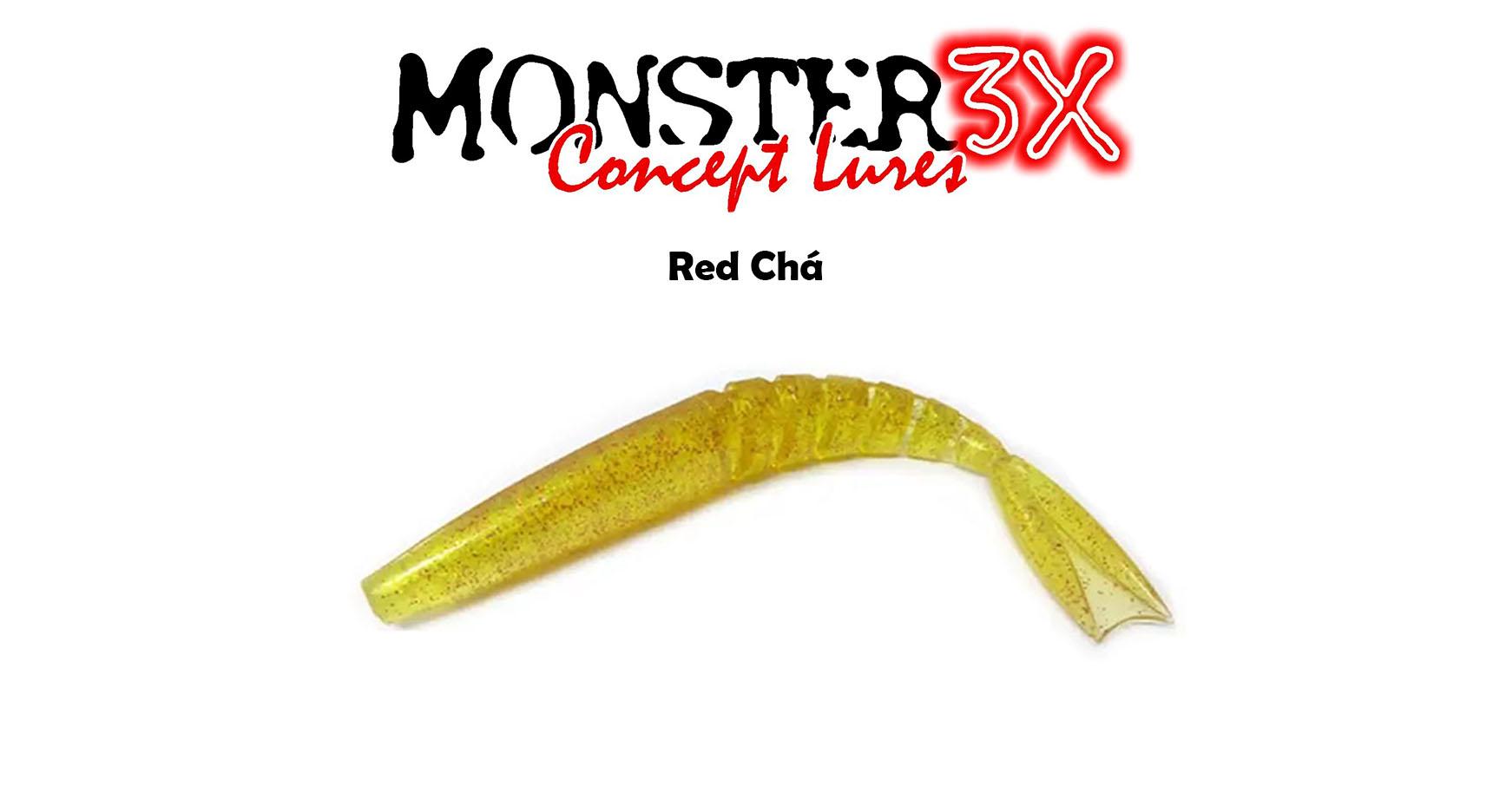 Isca Artificial Soft Monster 3X X-Swim (12 cm) 5 Peças - Várias Cores