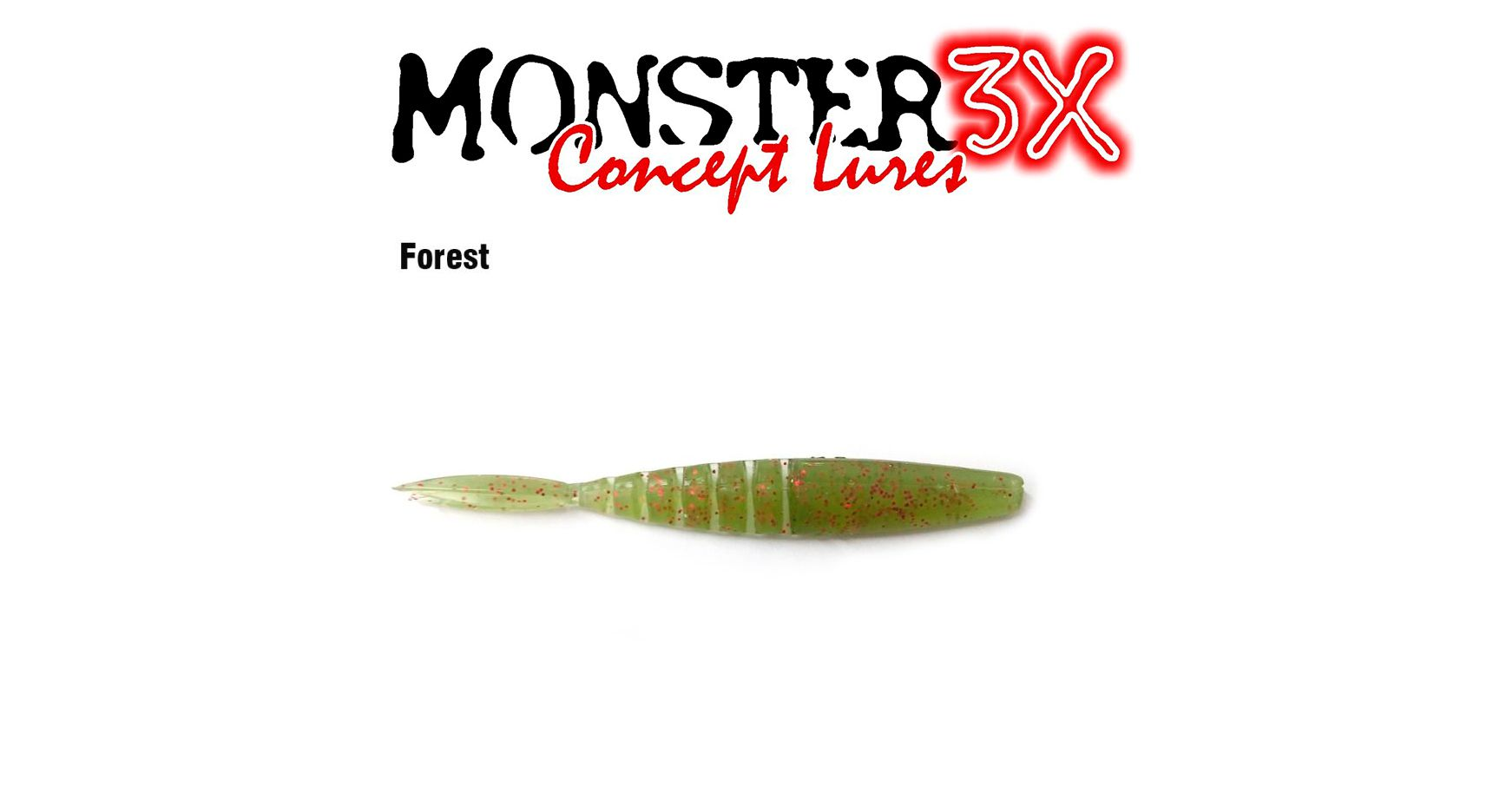 Isca Artificial Soft Monster 3X X-Swim (12 cm) 5 Peças - Várias Cores  - Life Pesca - Sua loja de Pesca, Camping e Lazer