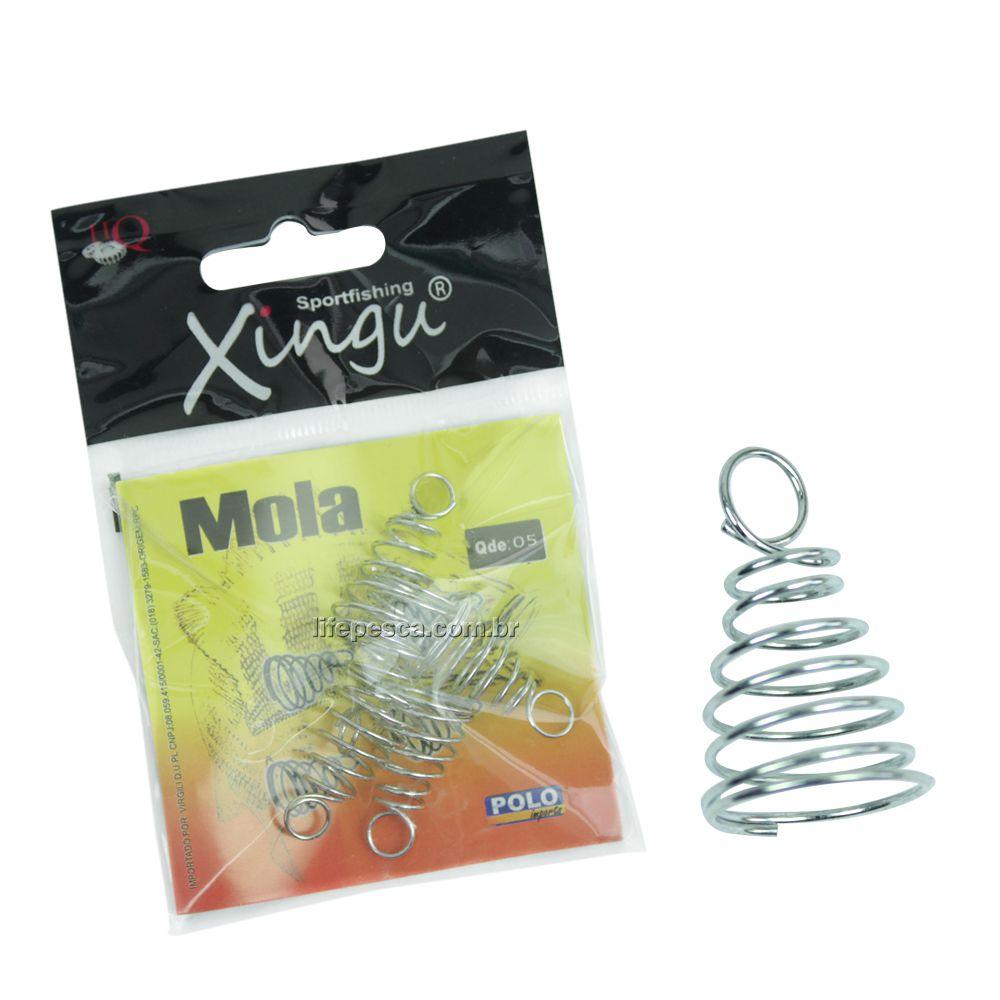 Kit C/ 20 Cart. Molas Para Chuveirinho Grande (2,1cm) Xingu - 100 Peças